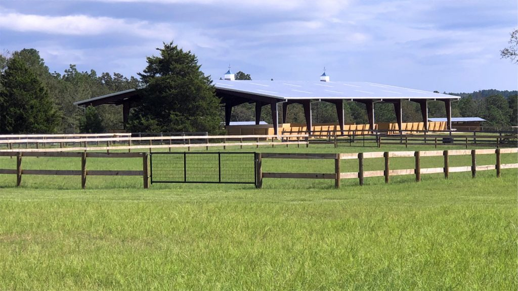 Covered Arena and Horse Training - New Era Farm - Aiken, SC