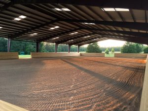 Large covered arena available to rent in Aiken, SC