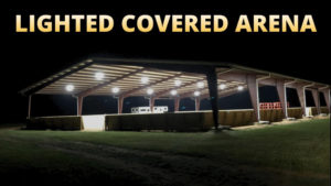 Lighted Covered Arena For Rent - Aiken, SC